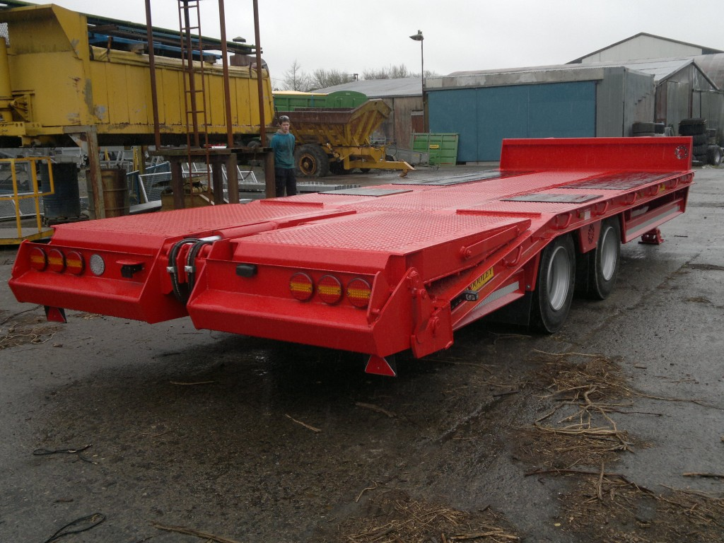 Tractor Drawn Low Loader Trailers Dooleybros