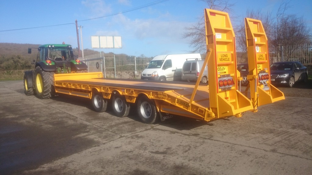 Car Ramps For Sale >> Tractor Drawn Low Loader Trailers | Dooleybros